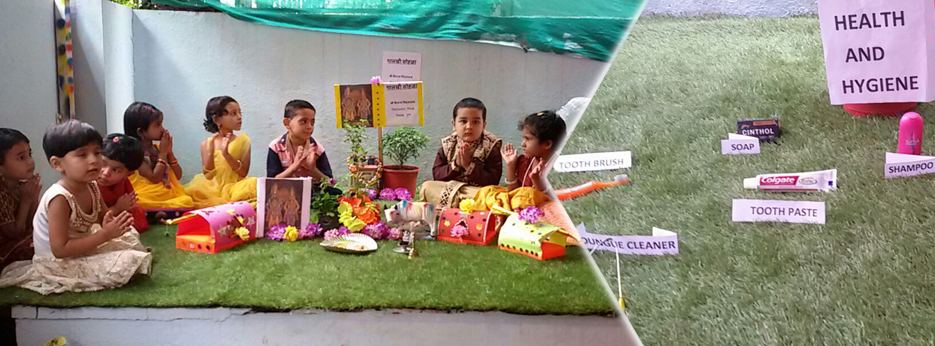 Play group to 1st standard school in Pimple Nilakh
